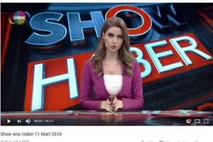 [포토] 터키TV, 문 대통령 사진 오보 사과 방송