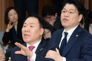 [서울포토] 항의하는 장제원과 염동열