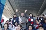 평창 패럴림픽 관람 온 문…