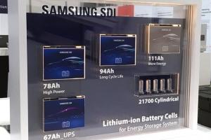 삼성SDI '고용량 ESS 배터리'로 시장 공략