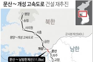 남북한 잇는 문산∼개성 고속도로 건설 다시 추진