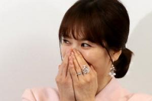 [포토] '부끄부끄 새댁' 송혜교