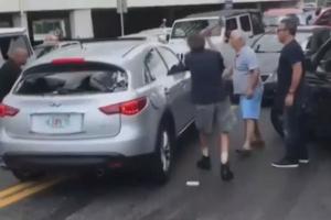 뺑소니 차량 온몸으로 막은 시민들