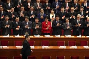 '권력자' 입장… 정협 '대만 독립 용납 않는다' 정치 결의 채택