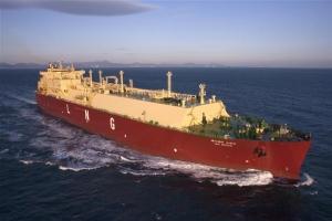 첨단 첫 한국형 LNG선 운항