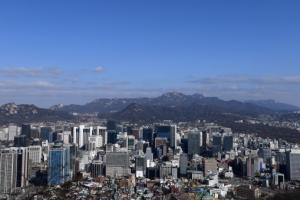 [서울포토] 오랜만에 만나는 맑은 하늘