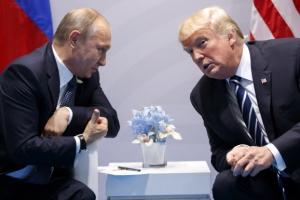 정상에 오른 비정상적인 두 남자… 트럼프 코미디·푸틴 스릴러