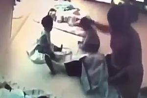 대만 어린이집서 아기 학대하는 보육교사 포착