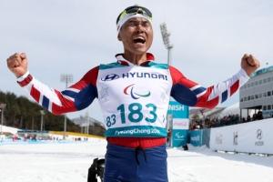'드디어 신의현이 해냈다!' 26년 걸린 동계패럴림픽 첫 금메달