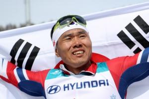 한국 동계패럴림픽 역사를 다시 쓰다...'메달 데이' 금 1개, 동 1개 수확