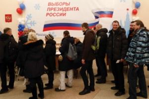 러시아 대선 시작…푸틴 당선 시 2024년까지 집권