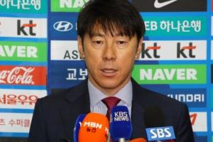 """신태용 """"손흥민 투톱 아닌 윙 포워드로도 기용 가능"""""""
