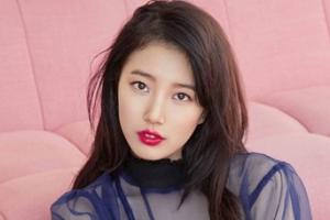 '붉은 립스틱 바르고' 수지, 화보 공개
