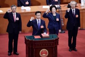 中 경제 이끌 새 사령탑에 류허·이강