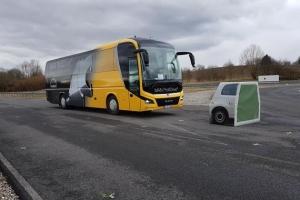 충돌 각오하고 가속 페달…그때 버스가 스스로 멈췄다
