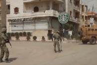 분쟁지역 시리아 아프린에서 포착된 짝퉁 '스타벅스'…
