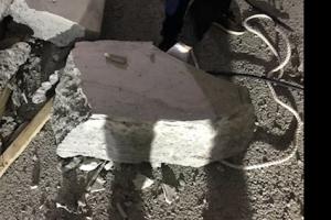 부산 산성터널 공사 중 콘크리트 떨어져 1명 숨져