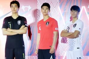러 월드컵 홈 유니폼은 '검은색 바지'