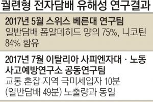 """""""궐련형 전자담배 유해"""" 또 불붙은 논쟁"""