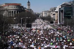 우리 목숨을 위한 행진…'베트남 反戰' 이후 최대 청년 시위