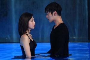 '위대한 유혹자' 우도환-박수영, 수영장 비밀 데이트 포착