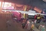 러시아 쇼핑몰 화재 당시 CCTV 영상 공개