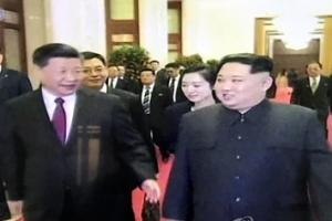 """北 """"김정은·시진핑, 정세관리 등 중요사안 깊은 의견 교환"""""""