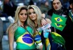 섹시한 브라질 축구팬에 …