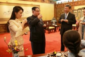 [포토] 北 김정은, 25∼28일 중국 비공식 방문…리설주도 동행