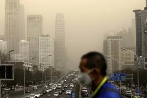 숨 막히는 中 베이징