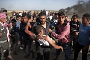 가자지구 '피의 주말'