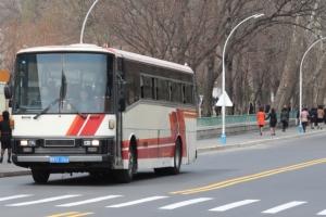 [포토] 평양 버스