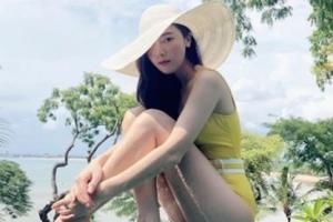 '강렬 눈빛' 제시카, 밀착 수영복 입고 청순미 '뿜뿜'