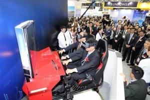 가상현실 몰입형 투어 기기 체험