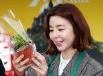 김규리 '독도식물 섬기린…