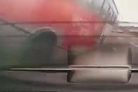 """[영상] 울산 버스사고 블랙박스 """"차선변경 차량 피하…"""