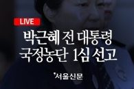 박근혜 전 대통령 1심 선고