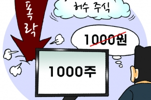 우리사주 배당금 1000원 아닌 1000주 지급… 삼성증권 황당한 실수