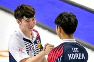 스웨덴에 연장 11엔드 8-9 분패, 한국남자 스코틀랜드와 동메달 다퉈