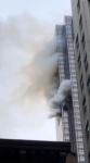 트럼프타워 화재로 5명 사…