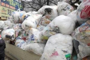 '재활용 쓰레기 대란' 이후 종량제 규격봉투 가격 오를 듯