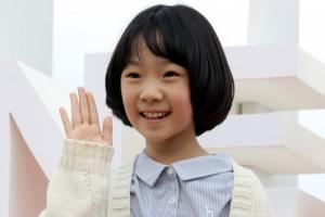 [포토] '마더' 허율, 칸이 주목한 꼬마 여배우의 '깜찍함'