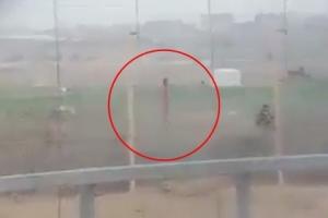 '이스라엘 저격수, 비무장 팔레스타인 남성 저격하고 환호성' 영상 논란