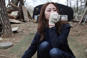 [포토] 눈물 흘리는 김효진