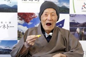 [포토] '112살 인증케익 먹었습니다'