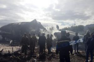러시아제 일루신 군용 수송기, 알제리서 추락…250여명 사망