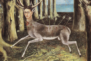 [이호영의 그림산책10, 끝]프리다 칼로 -그림 상처입은 사슴, 그 눈 속으로