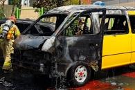 아이들 태우러 가던 어린이집 통학차량 화재