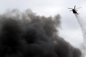 인천 전역에서 '시커먼 연기 기둥' 목격…시민 불안