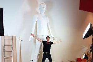 3D 프린터로 만든 3.6m 인간 조각상…세계 신기록